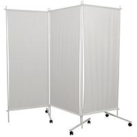 Ширма одно-трехсекционная с полимерными полотнищами, для кабинетов и палат лечебно-профилактических