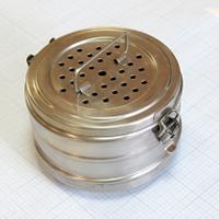 Коробки медицинские стерилизационные с фильтром D-3