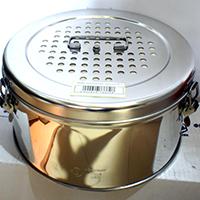 Коробки медицинские стерилизационные с фильтром D-6