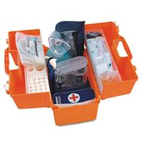 Набор для оказания реанимационной помощи взрослым и детям от 6 лет без аспиратора НРСП-01-«Мединт-М» (без коникотома, без аспиратора в сумке)