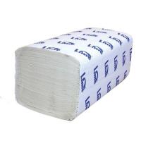 Листовые однослойные полотенца V сложения, 25г/м, 200 листов в пачке, в уп. 20 пачек.