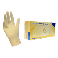 Мед.смотров. перчатки латекс., нест, н/о, 2-хлор SEMPERCARE, XS (5-6)