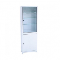 Медицинский одностворчатый шкаф ШМС-1