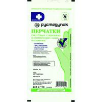 Перчатки смотр. нитриловые стерильные неопудр. р-р S / Русмедупак