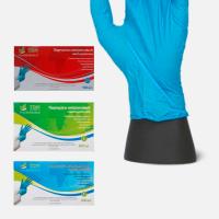 Перчатки смотровые стерильные нитриловые, неопудренные р. М/ Жасмин мед