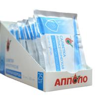 Салфетка антисепт. с перекисью водорода 13 х18 см