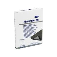 ATRAUMAN AG - Повязки с серебром (стерильные): 5 х 5 см; 10 шт / Хартман