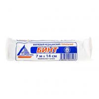 Бинт марлевый медицинский стерильный 7м х 14см, №1 инд.уп